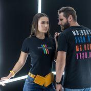 Tshirt feminina e Camiseta masculina Mr.Ocky