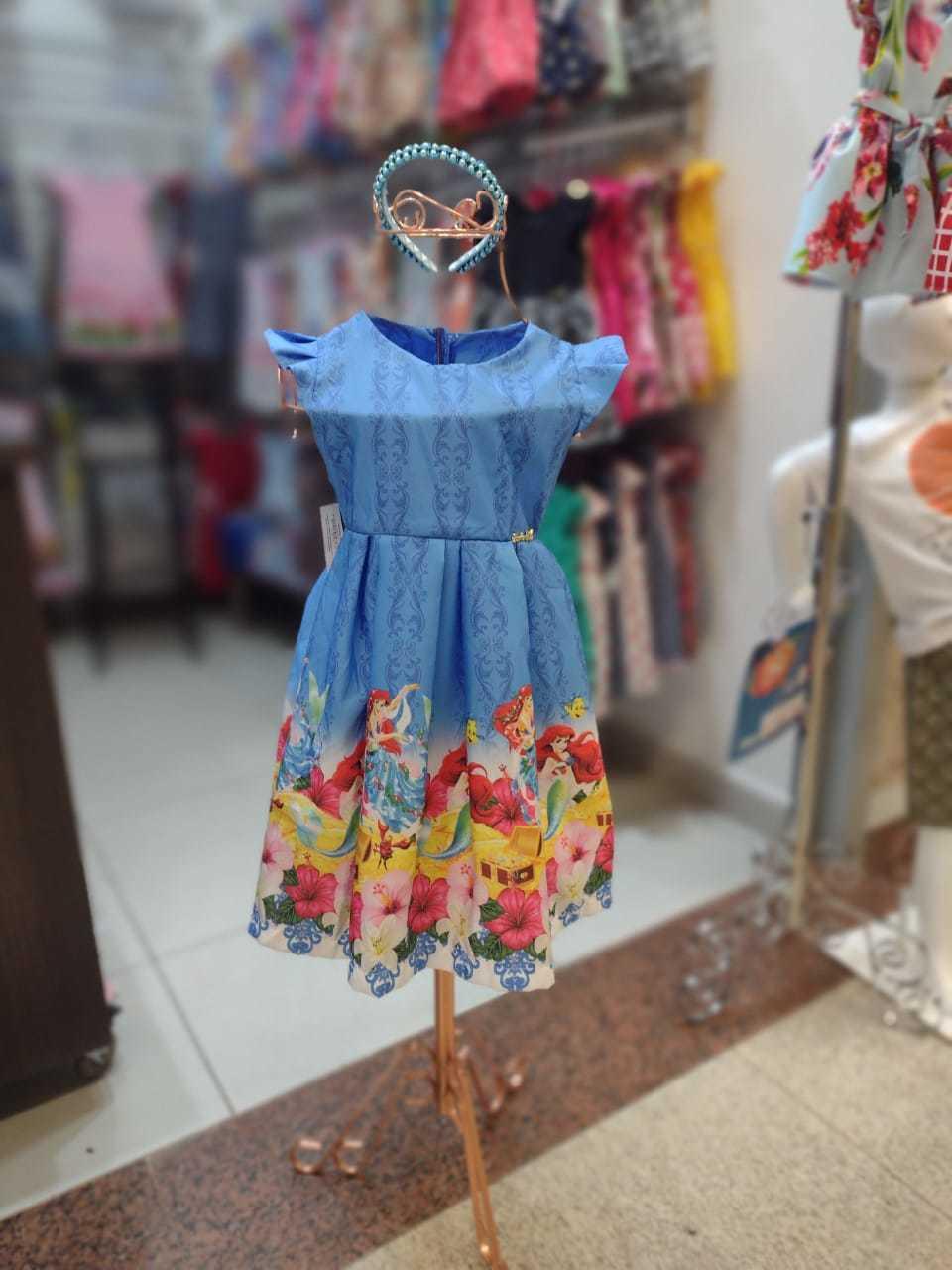 Vestido Ariel - Daj Kids