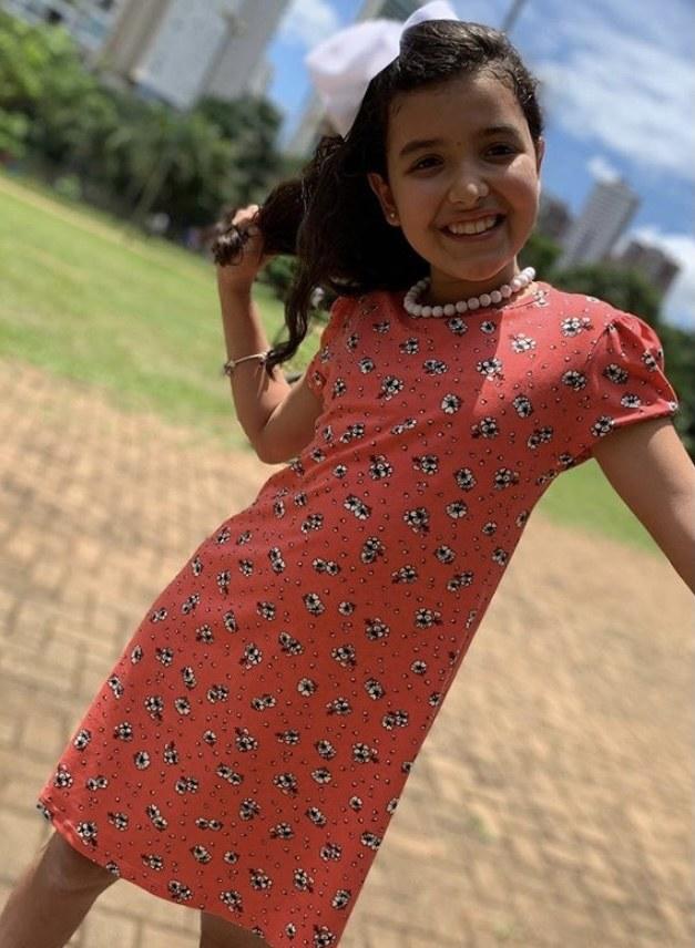 Vestido despojado - Menina Moça