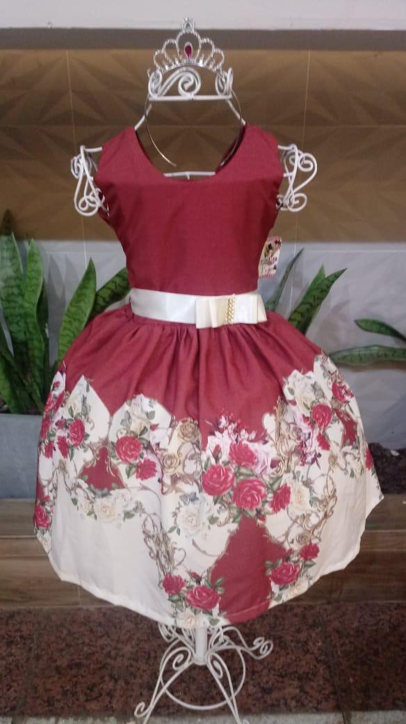 Vestido floral -Larissa Fashion Kids