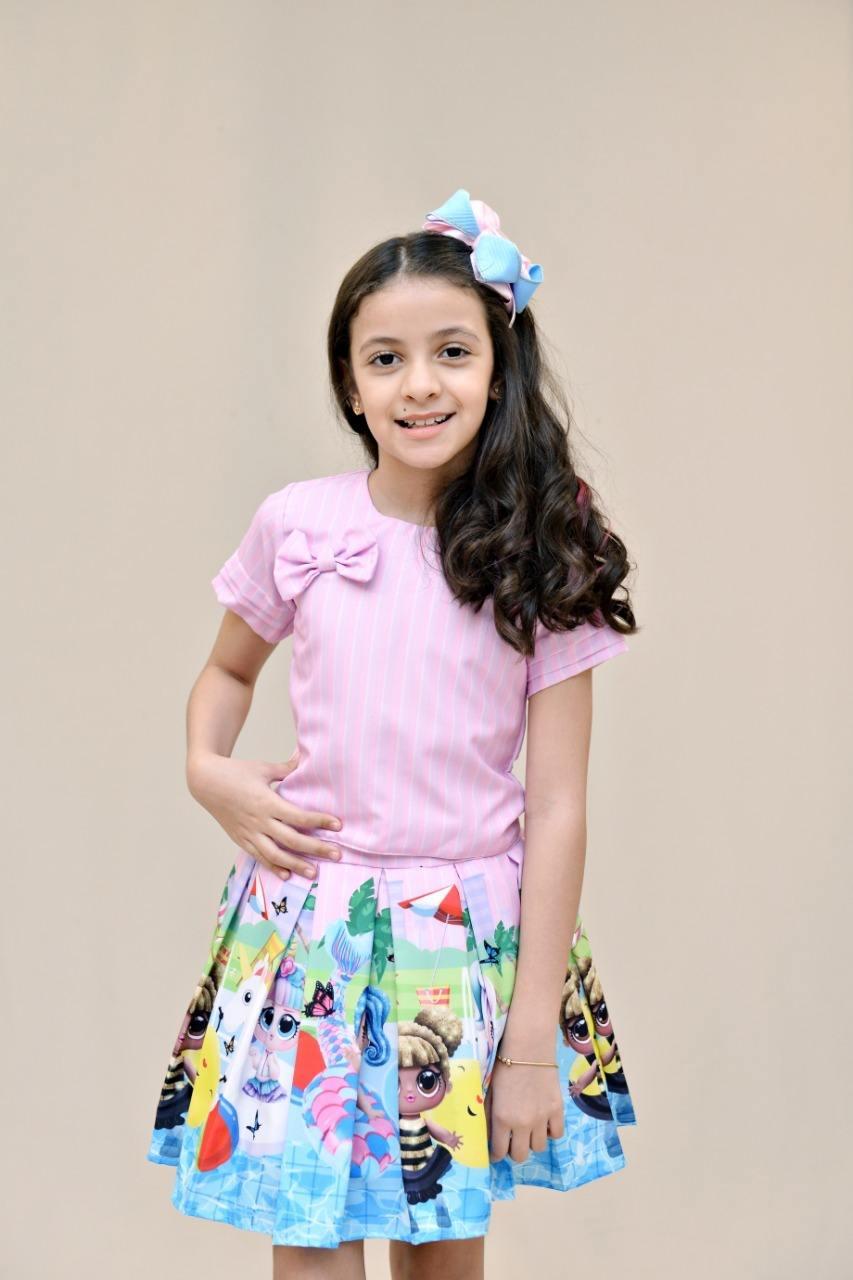 Conjunto infantil - Menina Sapeca