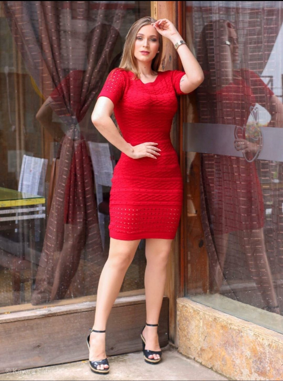 Vestido Life tricot modal - Diva Fashion GYN