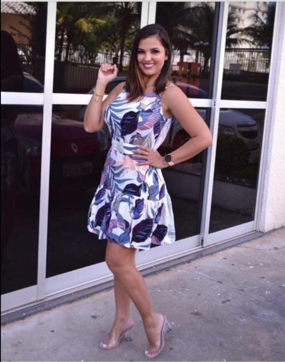Vestido Lollita Estampado- Valentina Closet