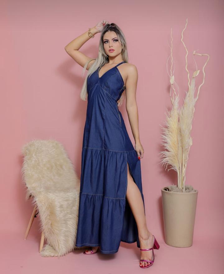 vestido longo - preciosa