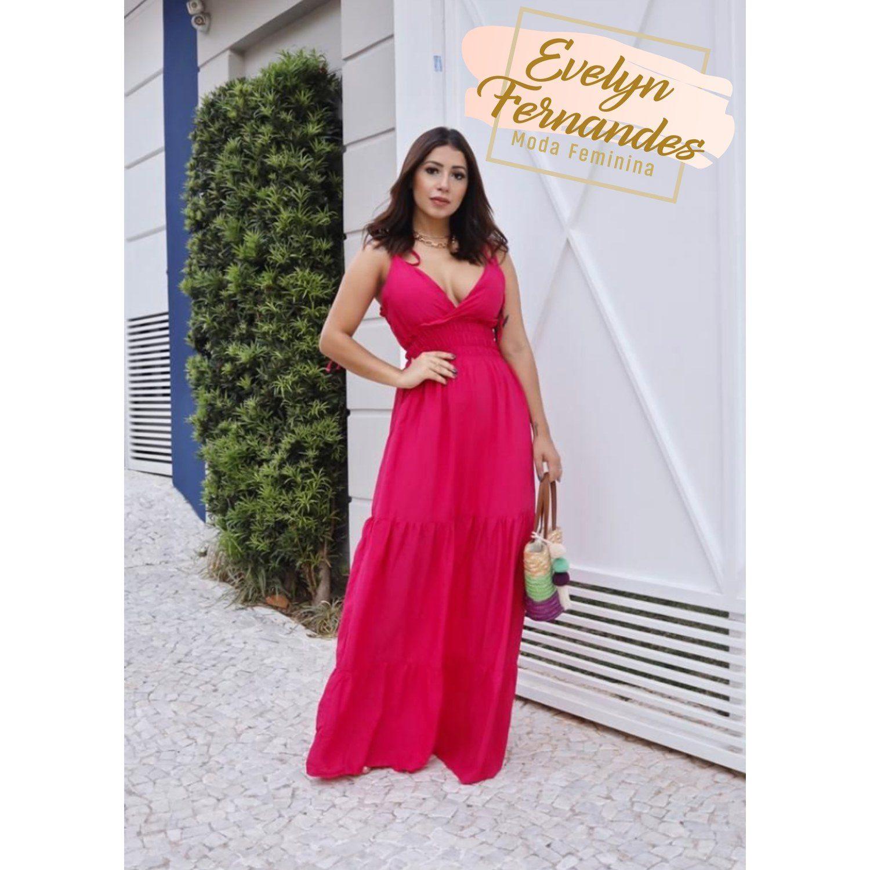 Vestido Longo - Evelyn Fernandes