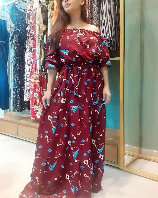 Vestido Longo - Valentina Closet