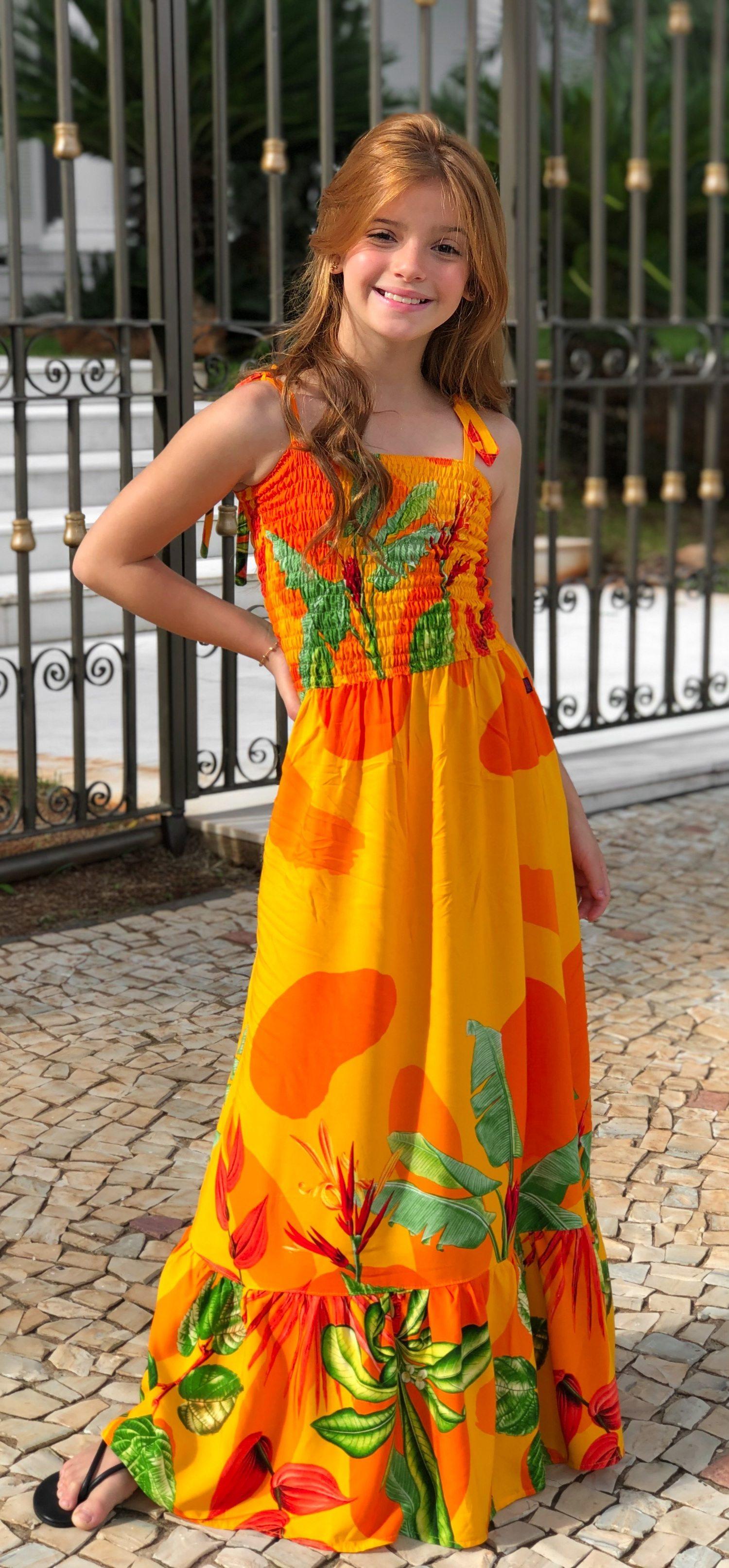 Vestido longo Viviane - Thatá Fashion