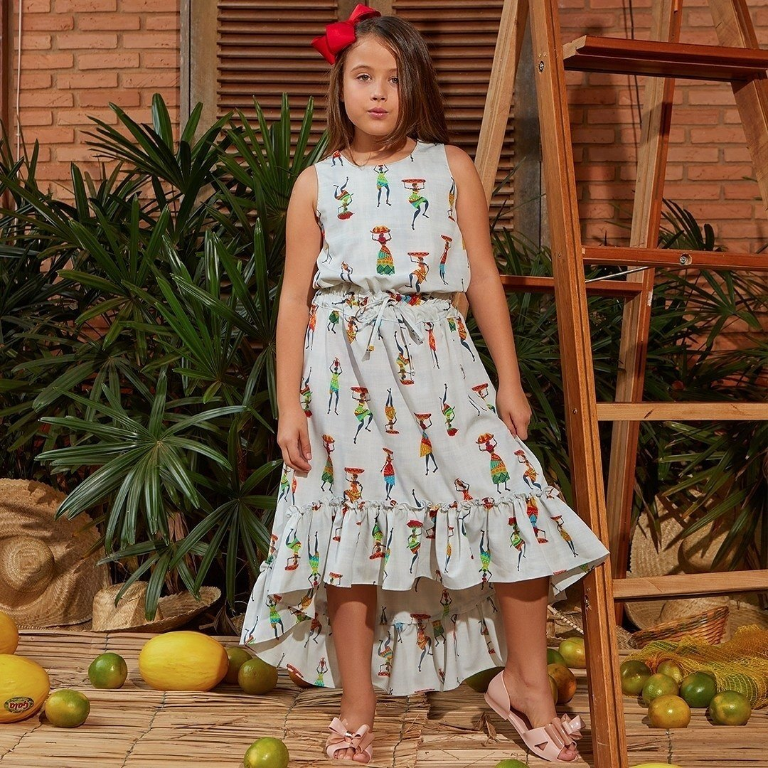 Vestido Mullet - Thatá fashion