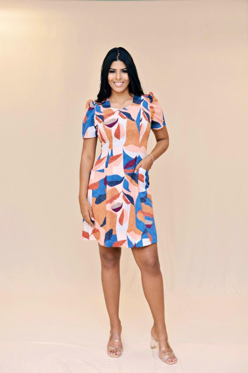 Vestido nesguinha Hemilly Fashion