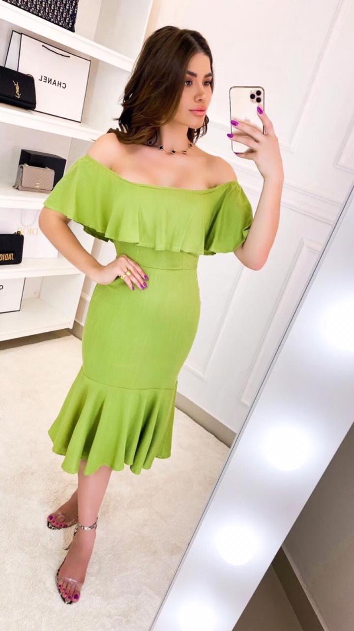 vestido no viscolinho - Lollita Fashion