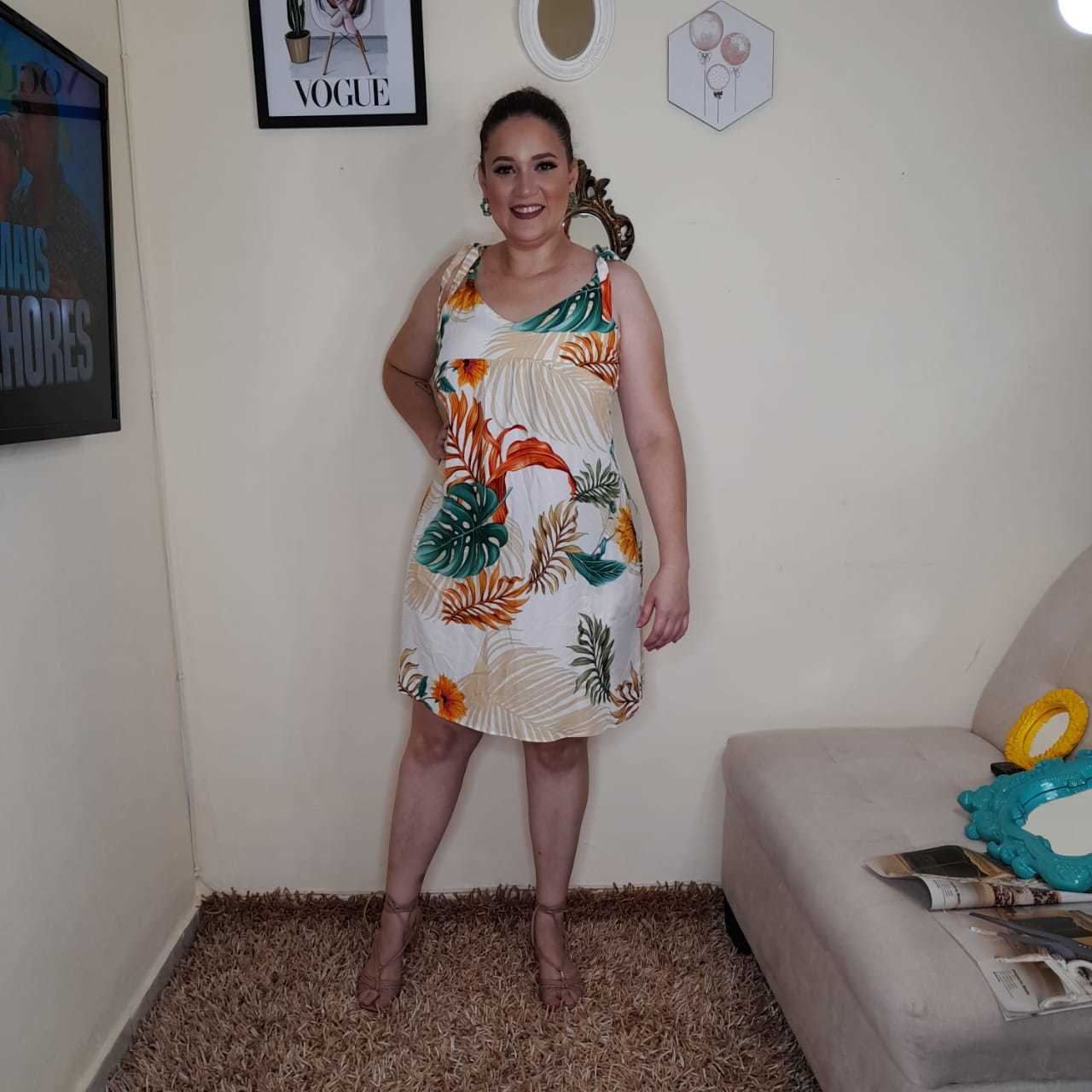 Vestido Nuvem - BELLA LIV STORE