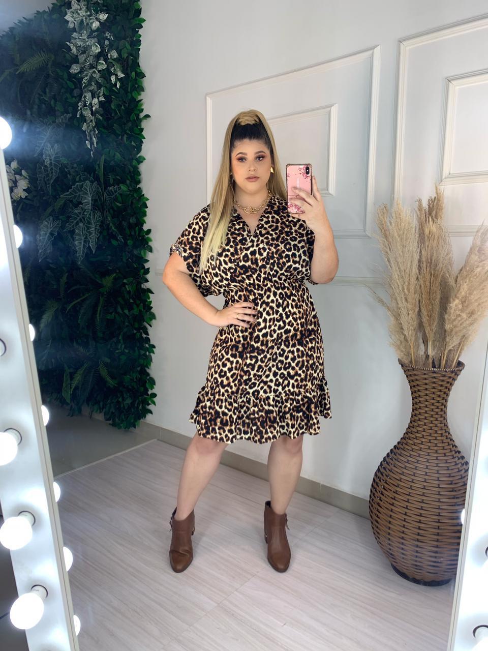 Vestido  PLUS - MADAME MINEIRA