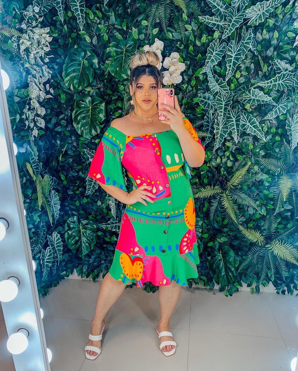 Vestido PLUS- MADAME MINEIRA