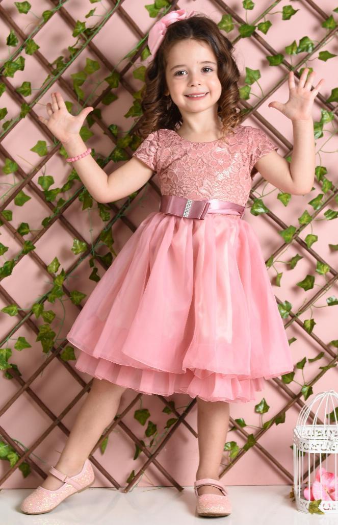 Vestido Princesa - Passarinho Kids