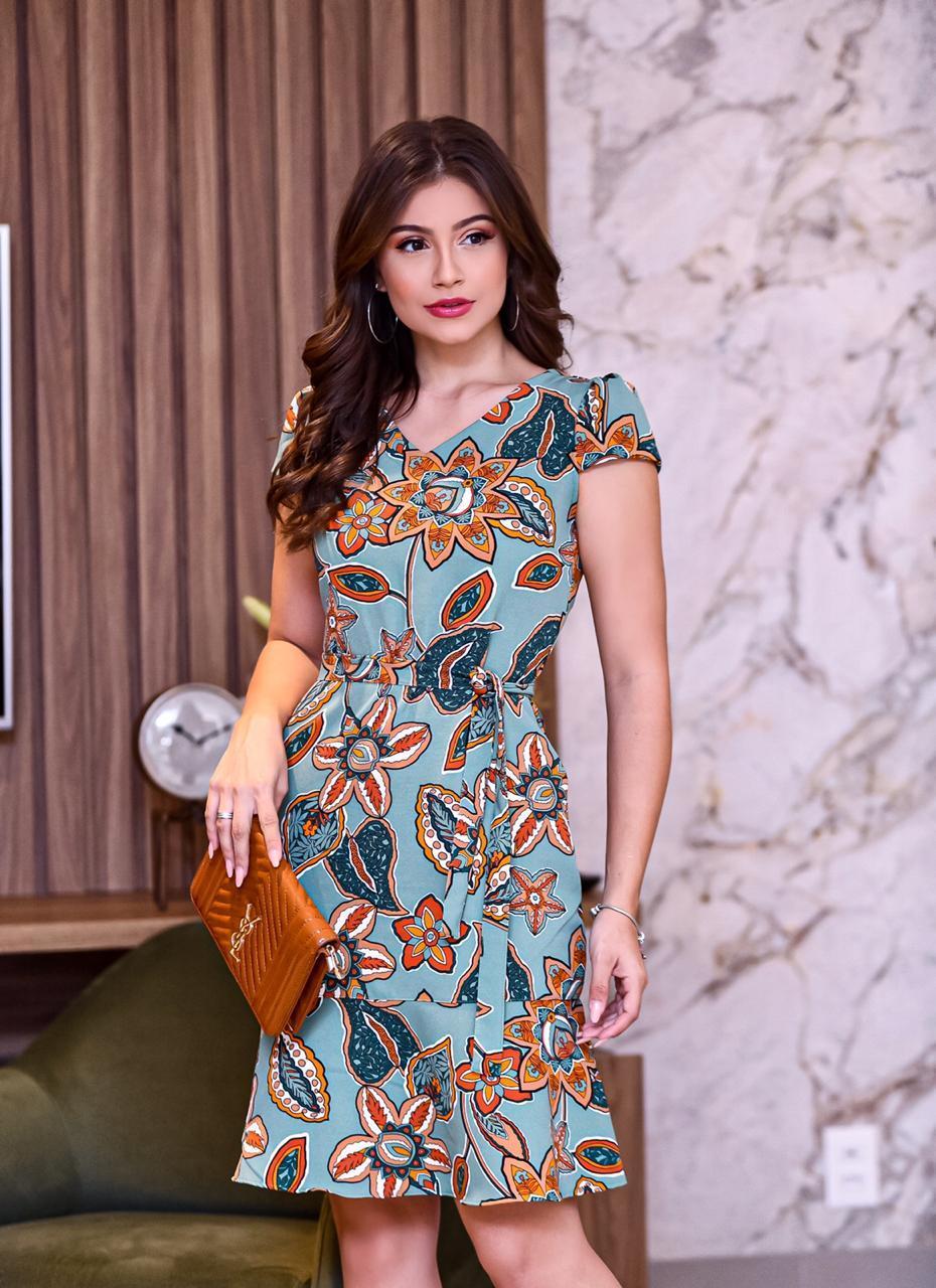 Vestido social- Rosy Barros