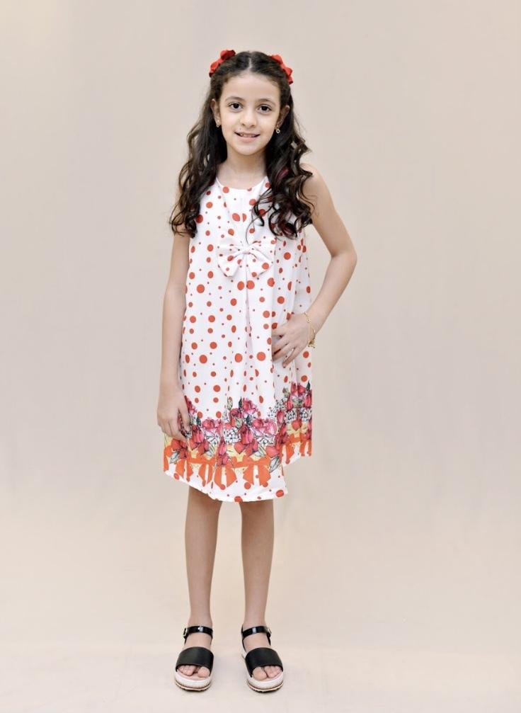 Vestido trapézio - Menina Sapeca