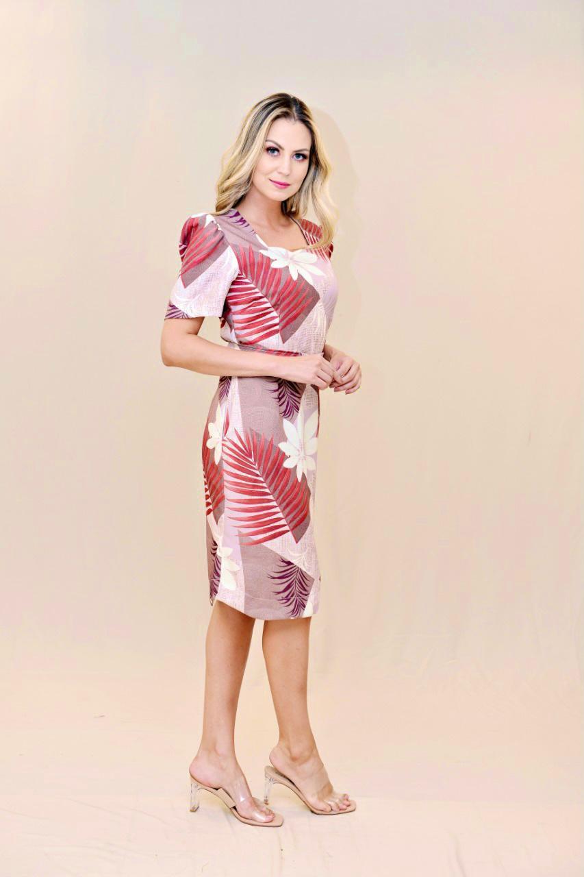 Vestido Tubinho Hemilly  Fashion