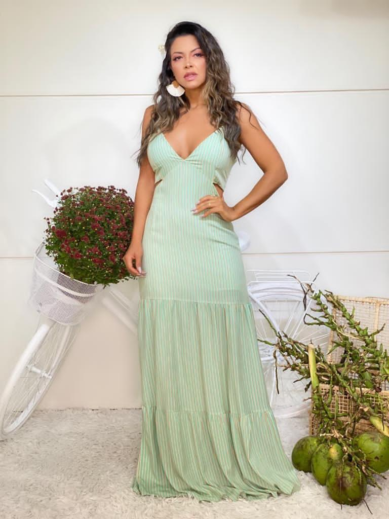 Vestido viscolynho- Adara