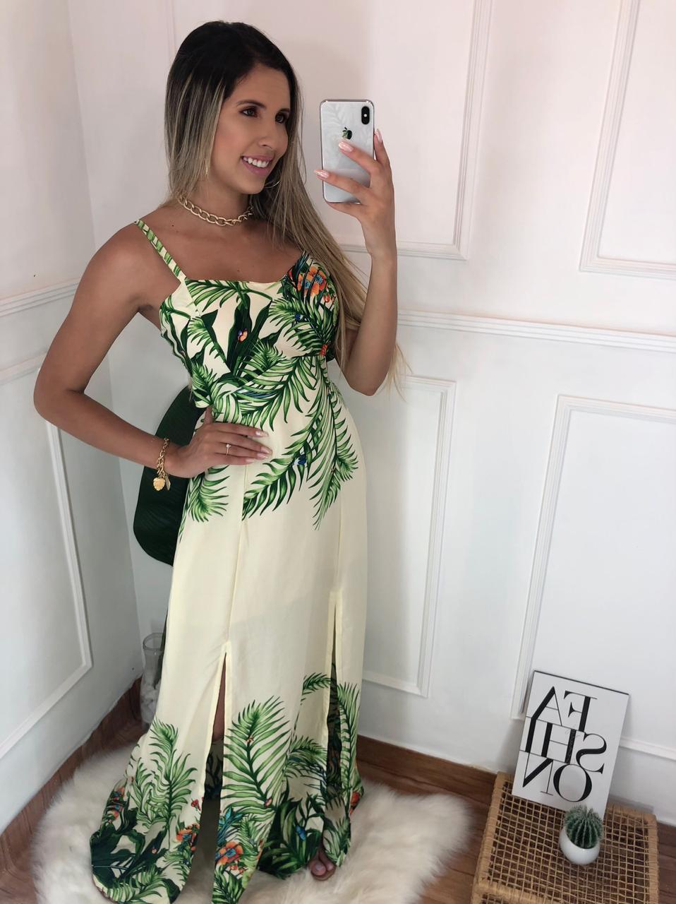 Vestidos longo - nenas fashion