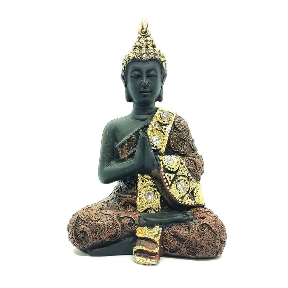 Buda com Pedras G Preto - Mãos Unidas