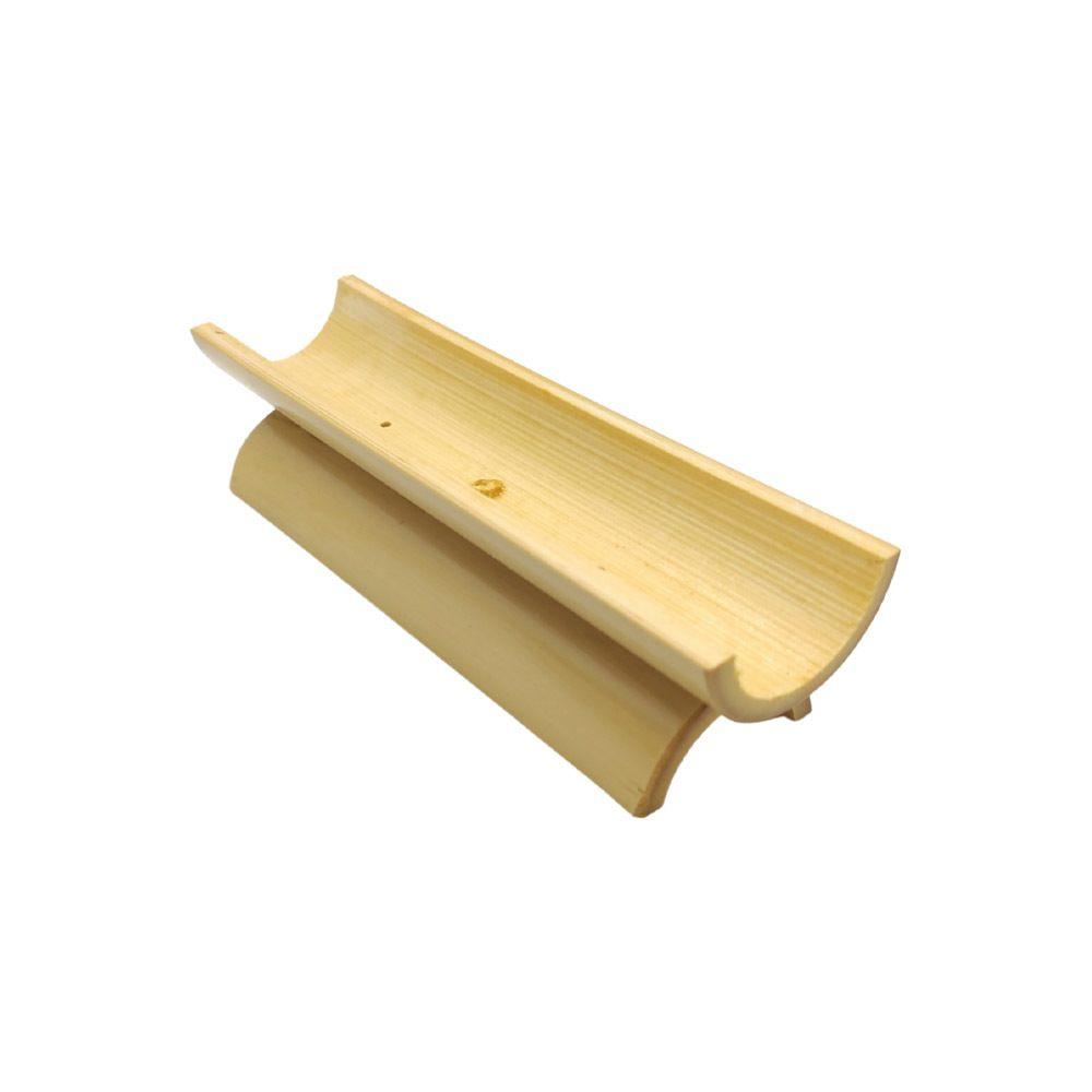 Incensário de Bambu Com Base 15cm Para 2 Incensos