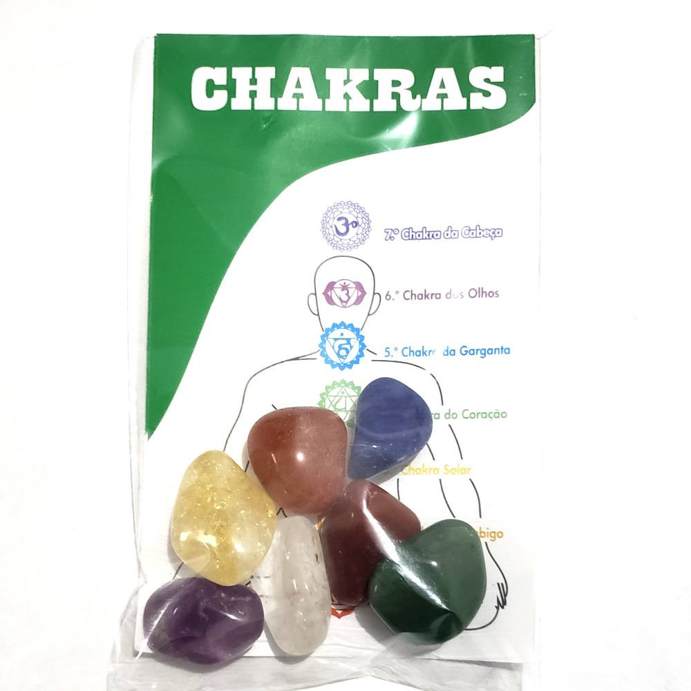 Kit Pedras do Chakras