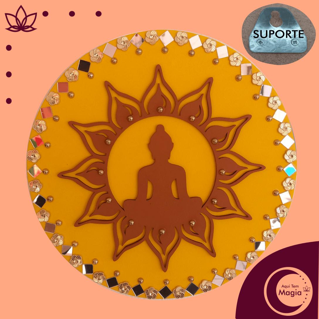Mandala Buda / Flor de Lótus 26 cm de Diâmetro