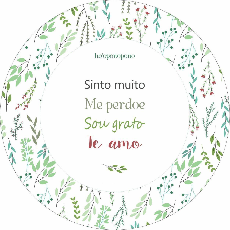 MANDALA HO'OPONOPONO: SINTO MUITO, ME PERDOE, SOU GRATO, TE AMO