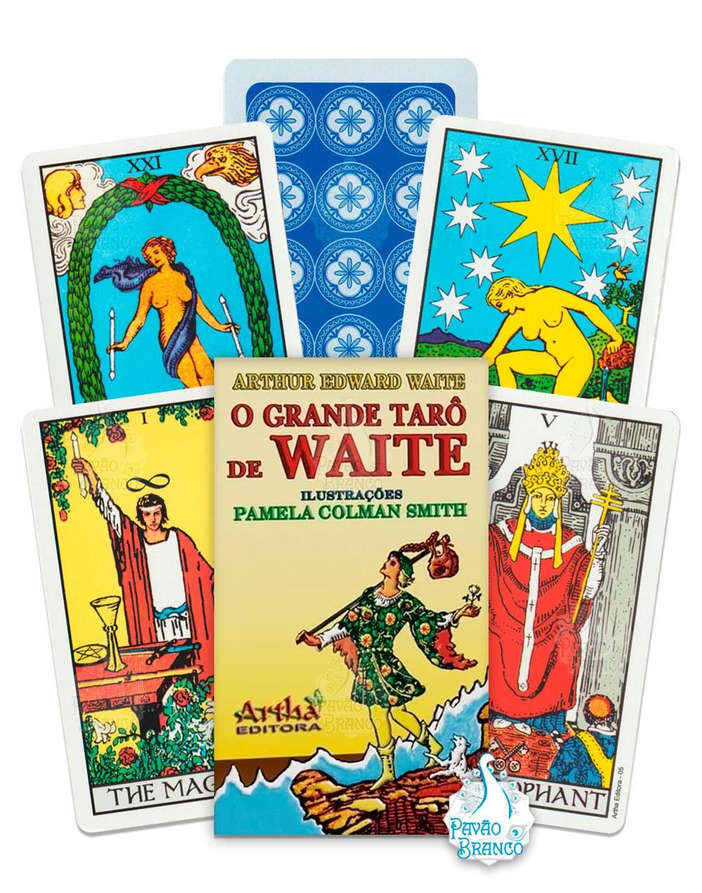 O Grande Tarô De Waite – Cartas – Editora Artha
