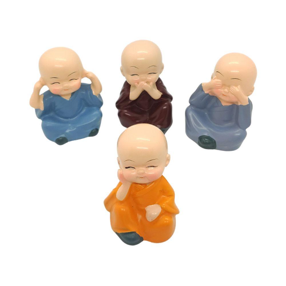 Os 04 Monges Sábios - Cego, Surdo, Mudo e Pensando