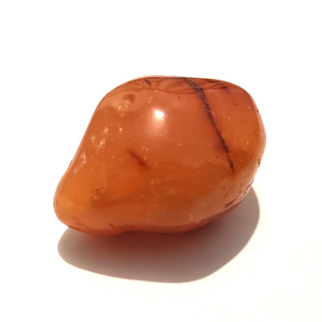 Cornalina Rolada - 3 / 4 cm