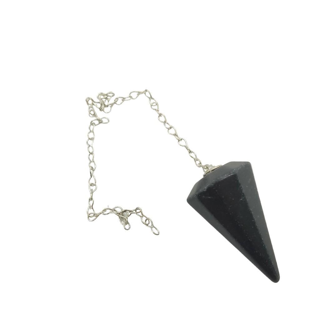 Pêndulo de Cristal Natural ÔNIX