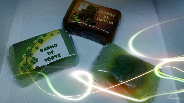 Sabonete trevo da sorte ou de ervas
