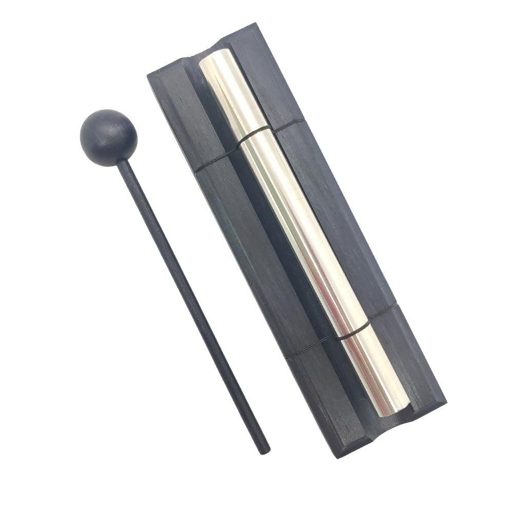 Sino Pin de Mesa Preto 15cm - Alta Vibração Feng Shui