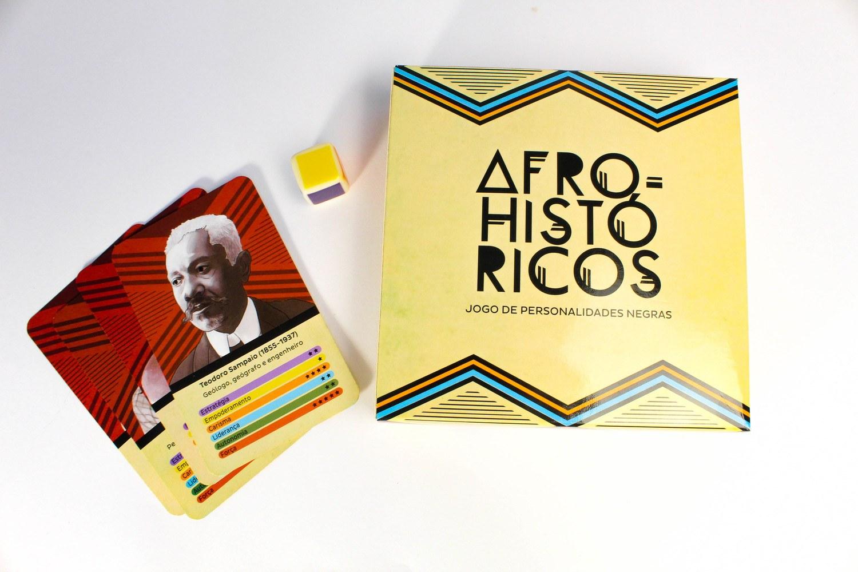 Afro-Históricos: Jogo de Personalidades Negras