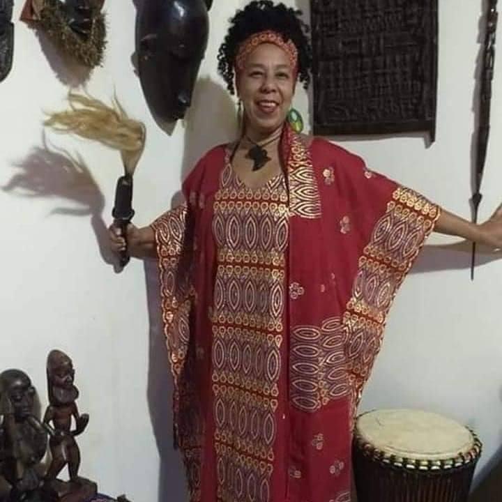 ALAKA LONGO TECIDO NIGERIANO LUXO