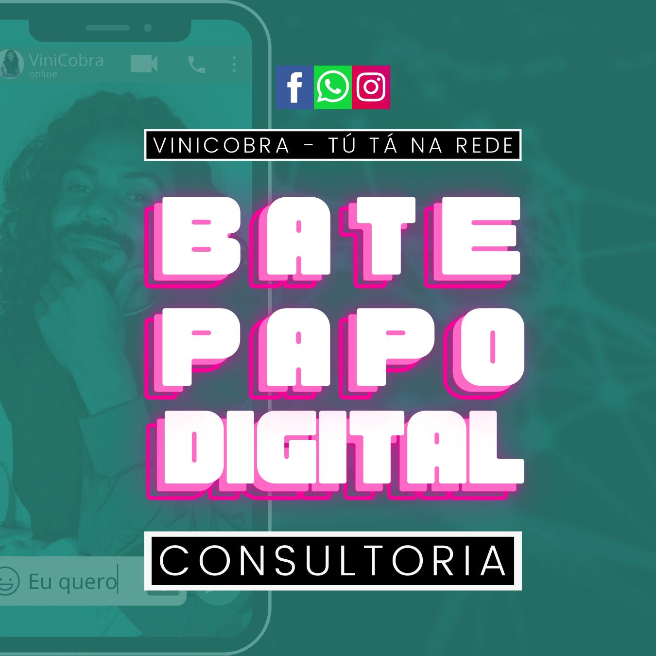 Consultoria Bate Papo Digital Internet Rede Social Instagram
