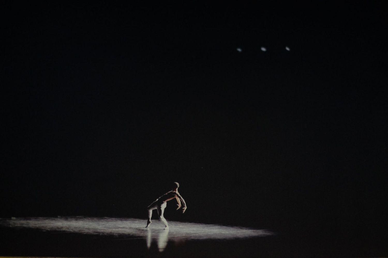 Bailarino sob a luz