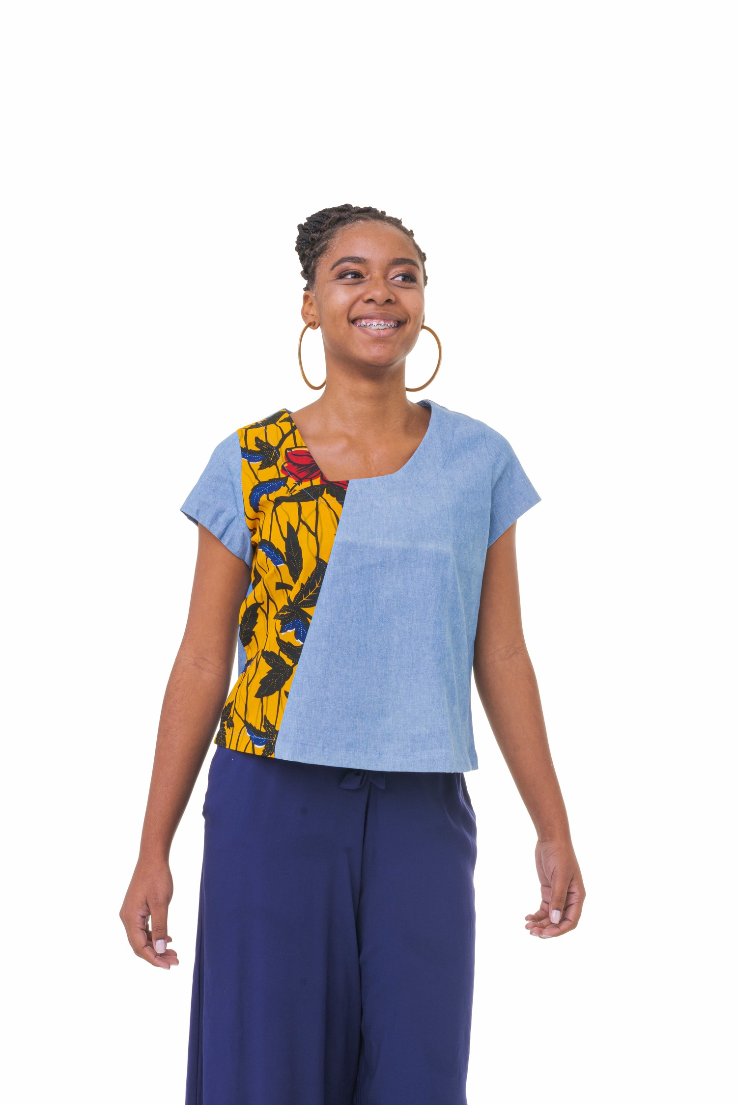 Blusa Afric Jeans