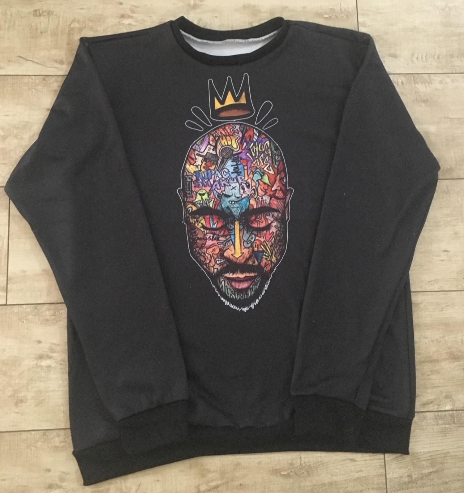 Blusa de Moletom  Afro
