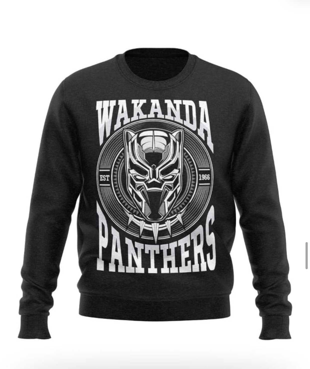 Blusa Pantera negra 3