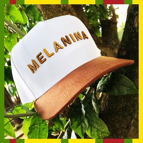 Boné MELANINA (branco)