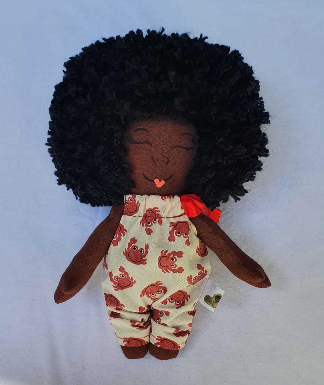 Boneca Negra Negrita Baby.