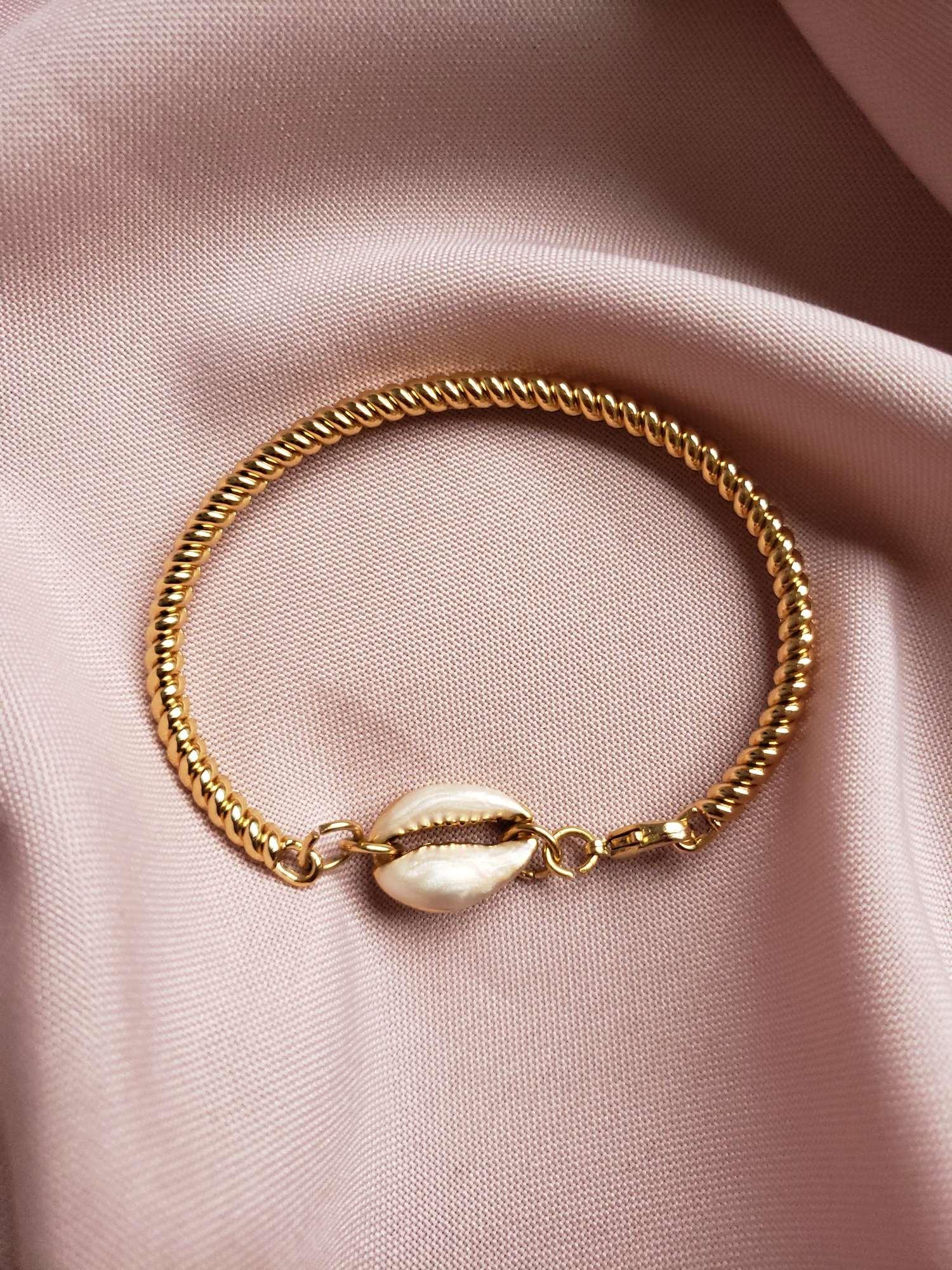 Bracelete Makeda  Branco | Coleção Origens
