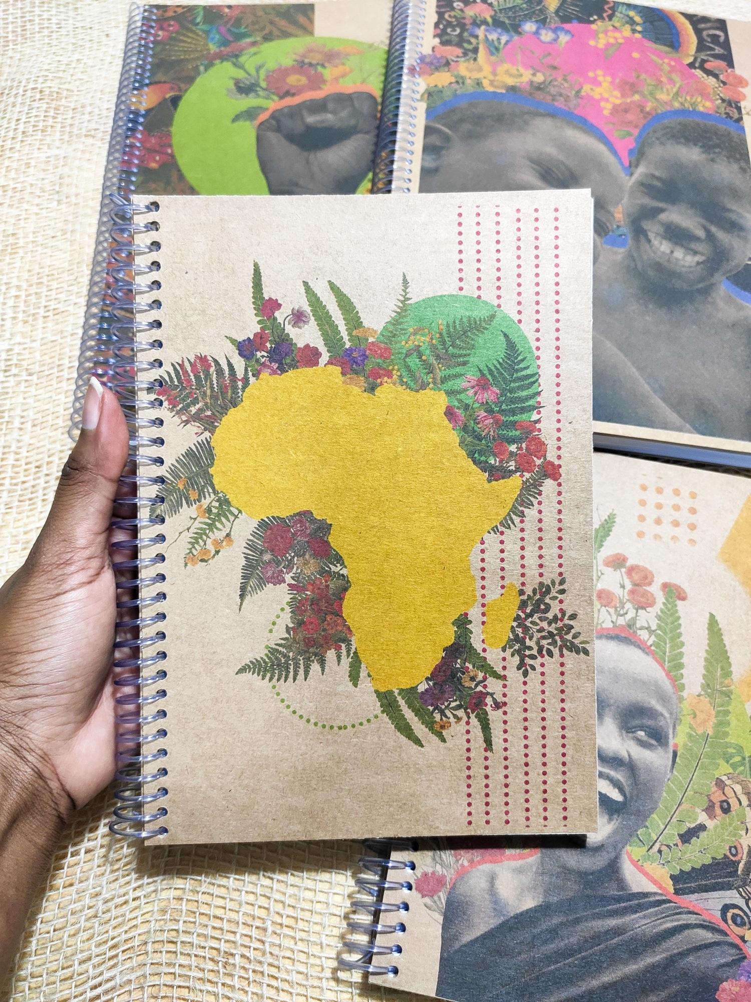Caderno A5 África
