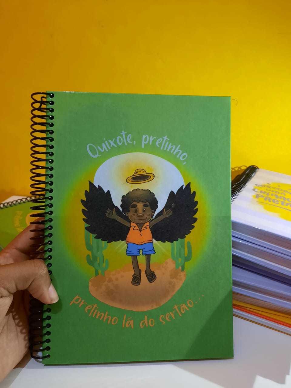 Caderno Artesanal - Quixote