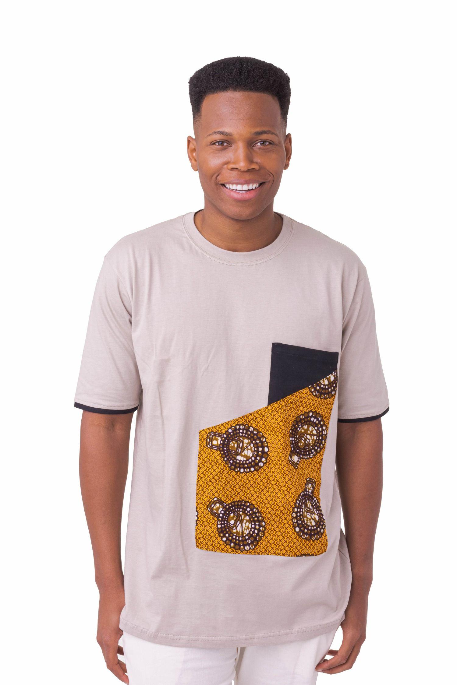 Camisa Assimetria Afro