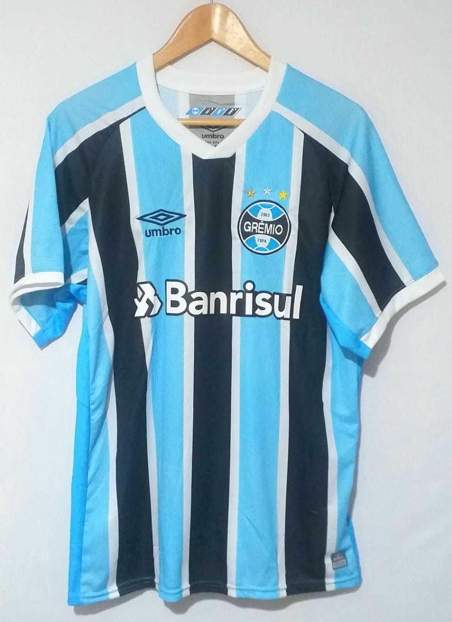 Camisa de Time de Futebol Grêmio 2021 Linha Premium