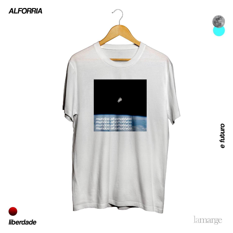 la marge - Camisa - mundos (Pré-venda)