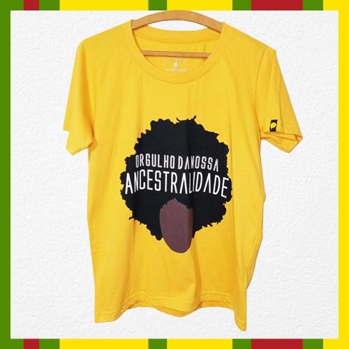 Camiseta – Ancestralidade (BabyLook)